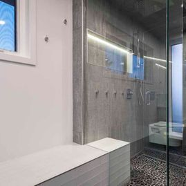 Portfolio-Whole Homes-Modern shower